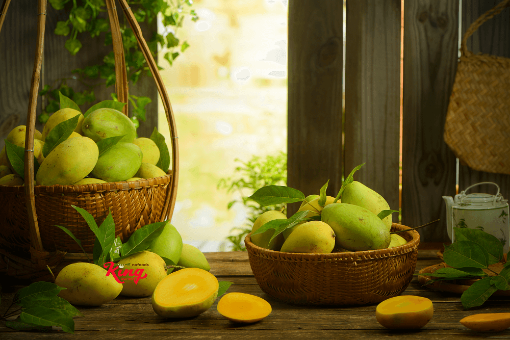 Soft dried mango Kingfoods - Selective from best Vietnamese mango