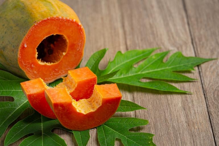 Papaya contain high nutrition value