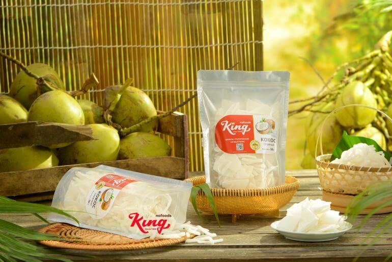 Kingfoods soft dried coconut