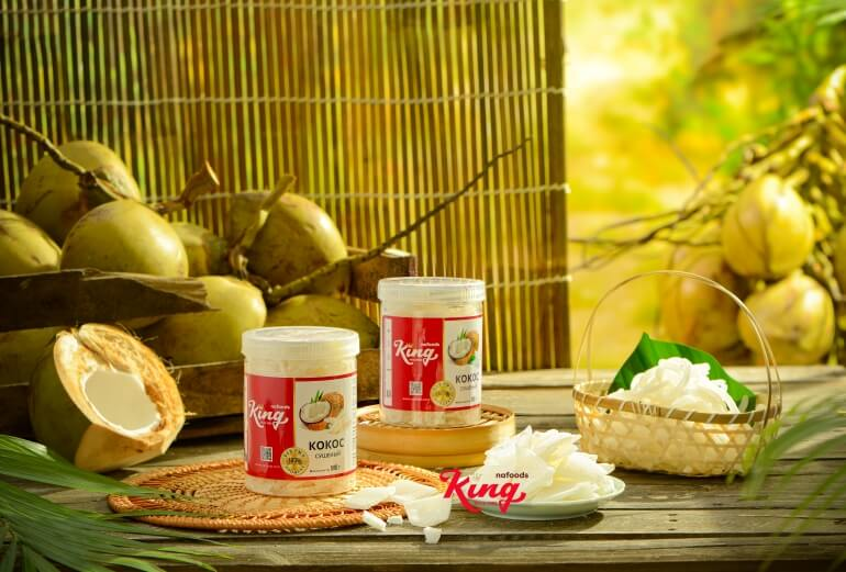 Kingfoods soft dried coconut is advanced technology to make high quality products