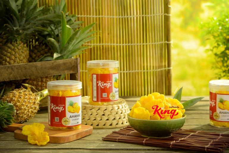 Kingfoods soft dried pineapple